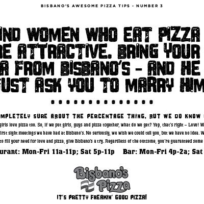 Bisbano's Pizza