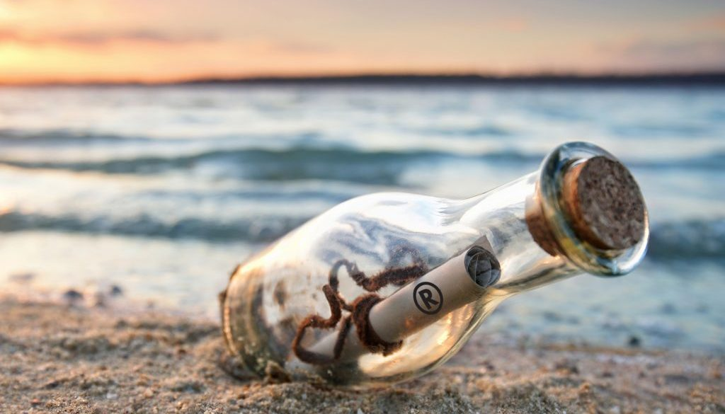 russo blog message in a bottle