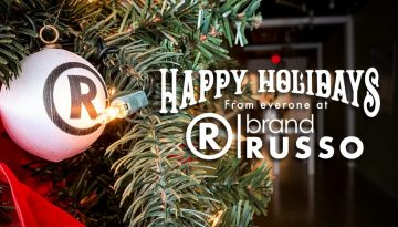 RUSSO holiday banner